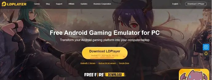 LDPlayer Official page