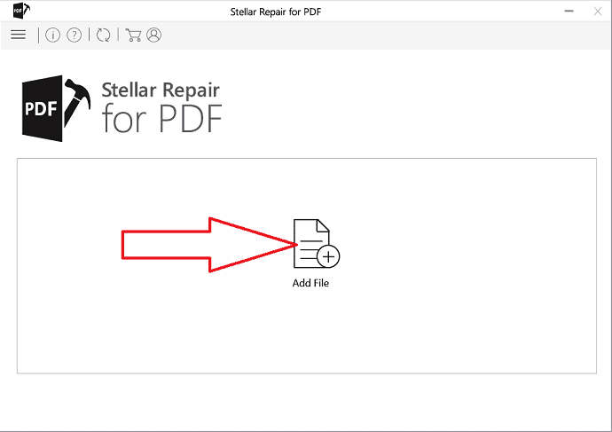 Click on Add file option.
