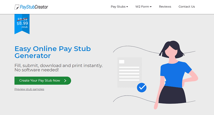 PayStub Creator official site