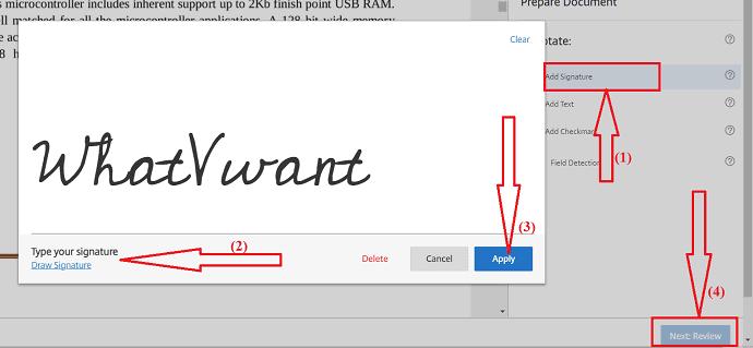 Add signature.