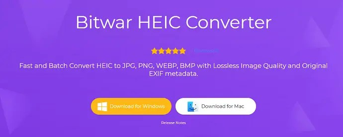 ware HEIC converter official page.