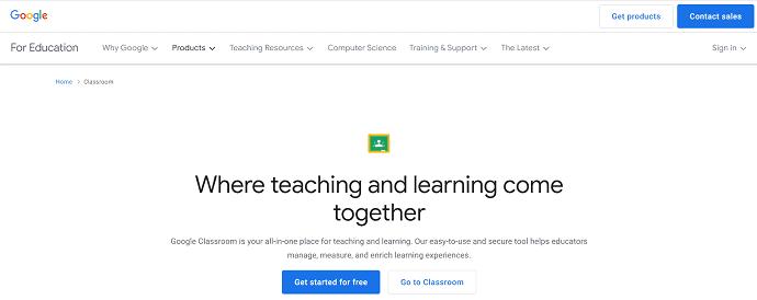 Google Classroom - Google Tools