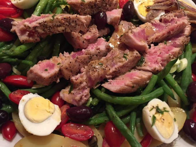 TUNA nicoise two