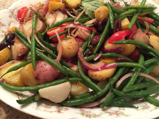 Haricots Verts and Potato Salad