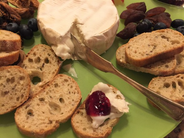 Goat cheese brie