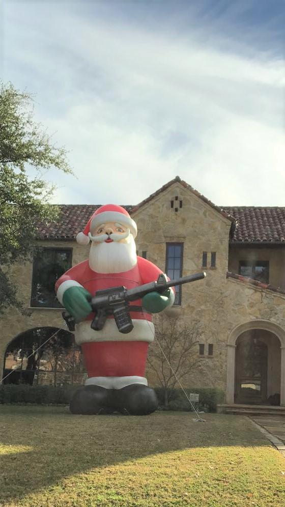 Texas Santa