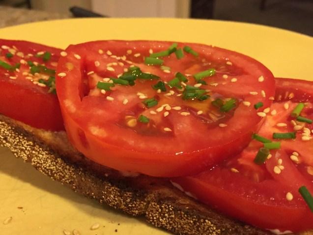 More tomato bread
