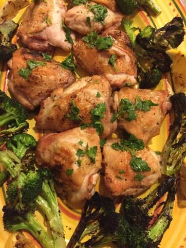 Chicken Salmoriglio