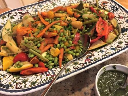 braised veg