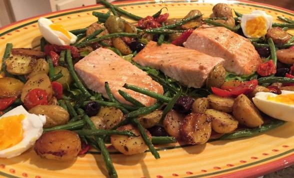 Roast Salmon Nicoise (2)