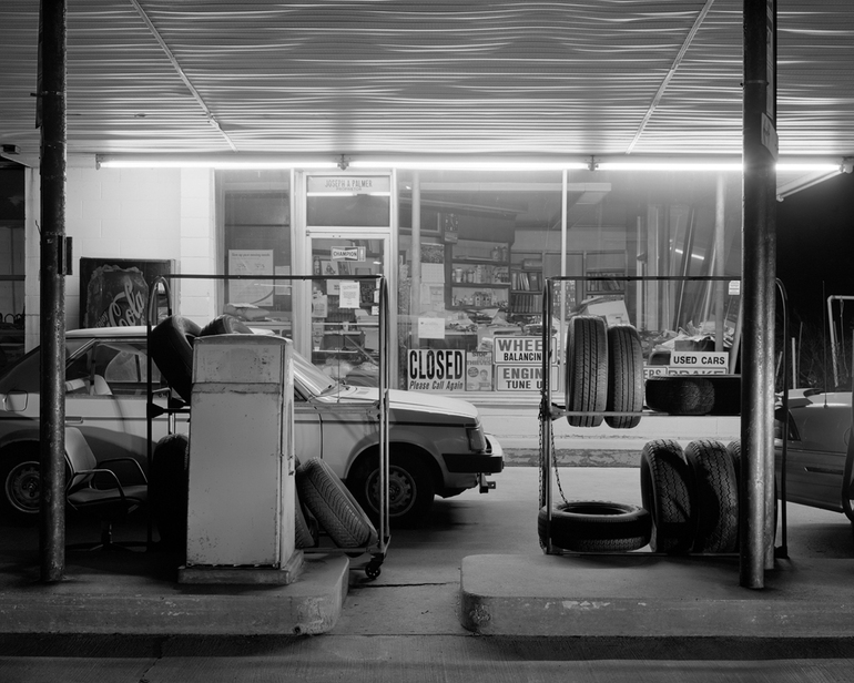 """""""Lowell Gas Station"""" by Andrew A. Lucas (courtesy of the artist)"""