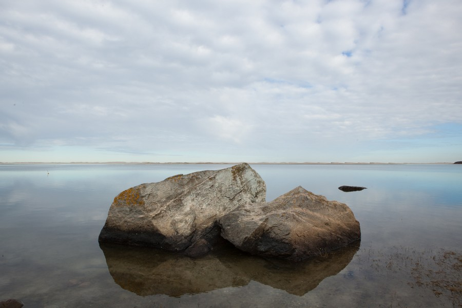 """Nauset Inlet #1"" archival pigment print by Gail Samuelson (courtesy of the artist and 555 Gallery, Boston)"