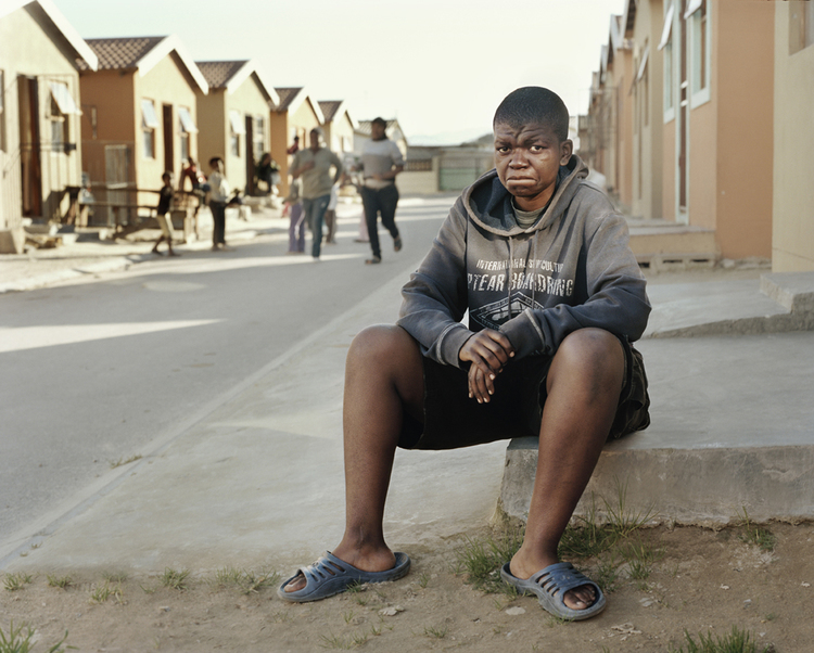 """""""Lindeka Stulo, Nyanga, Cape Town"""" from the series """"Corrective Rape"""" by Clare Carter, winner of the Peter Urban Legacy Award (courtesy of the artist)"""