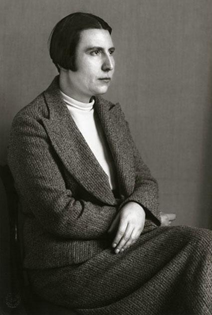 """Dance Teacher 1932/1990"" by August Sander (courtesy of Gallery Kayafas, Boston)"