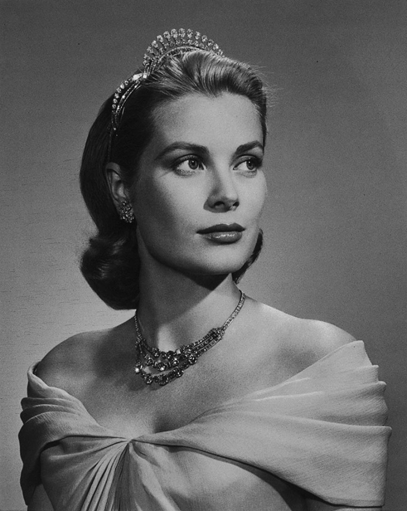 Yousuf Karsh, Princess Grace of Monaco, 1956. Photograph, gelatin silver print. Gift of Estrellita Karsh in memory of Yousuf Karsh. Reproduced with permission from the Princess Grace Foundation—USA, which supports emerging artists in theater, dance and film. www.pgfusa.org. © Estate of Yousuf Karsh.