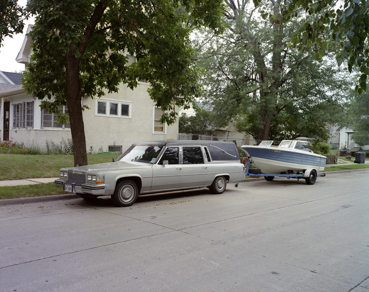 """""""Hearse, 2013"""" archival pigment print by Lex Thompson (courtesy of the artist)"""