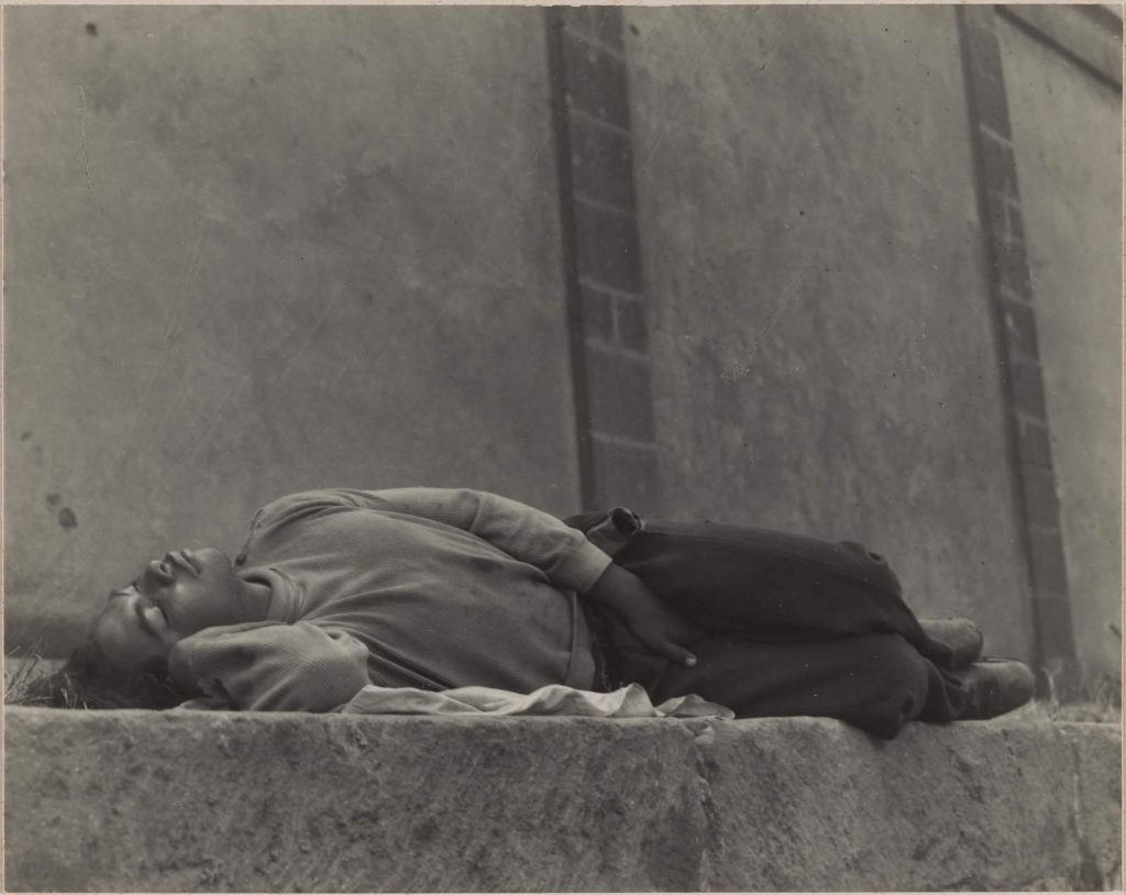 """""""El soñador (The Dreamer), 1931"""" platinum print by Manuel Alvarez Bravo from The Lane Collection, appeared in the MFA, Boston exhibit """"Viva Mexico: Edward Weston and his Contemporaries"""" in 2009, curated by Karen Haas."""