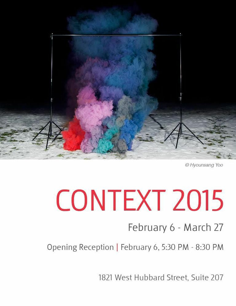 "Announcement for ""Context 2015"", the inaugural exhibit at Filter Space, the new gallery for Filter Photo."