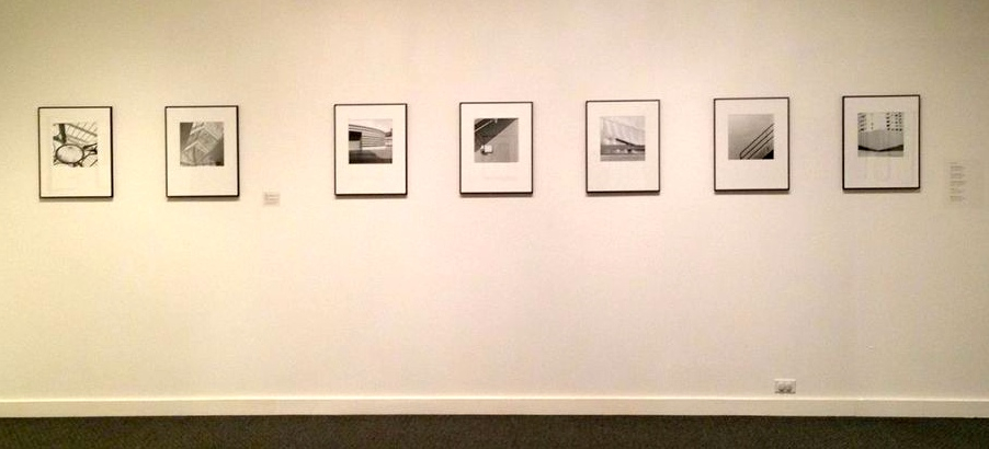 """Installation view, """"Of Light and Line"""" exhibit at Danforth Art Museum in Framingham, MA through May 17, 2015 (photo courtesy of Elizabeth Ellenwood)"""