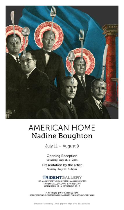 Nadine Boughton opens at Trident Gallery in Gloucester.