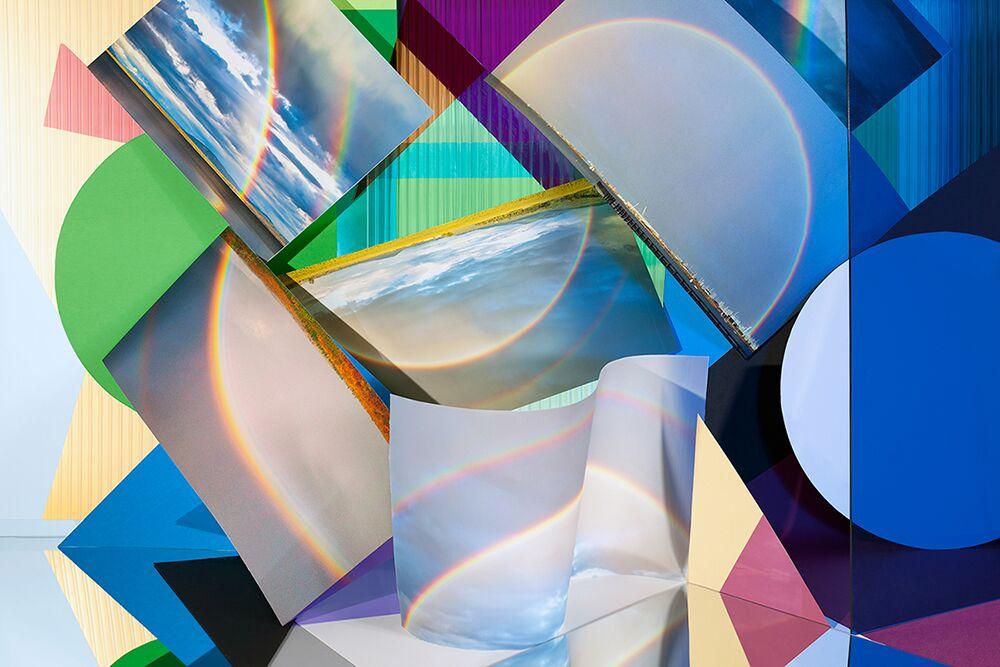 """Rainbows, 2014"" by Anastasia Samoylova (courtesy of the artist and Gallery Kayafas, Boston)"
