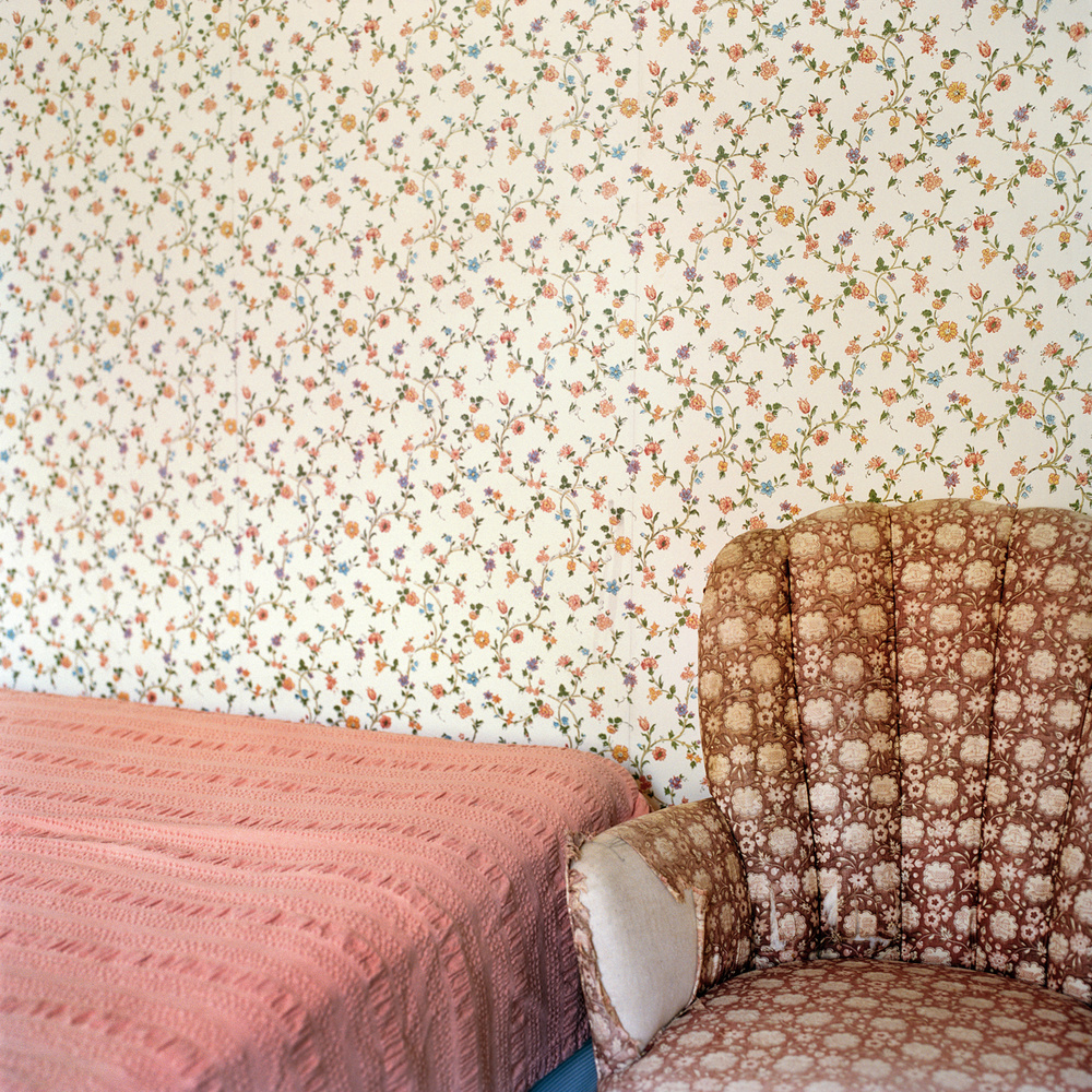 """""""Floral Patterns"""" from the series Let Virtue Be Your Guide by Frances F. Denny (courtesy of the artist and ClampArt, NYC)."""