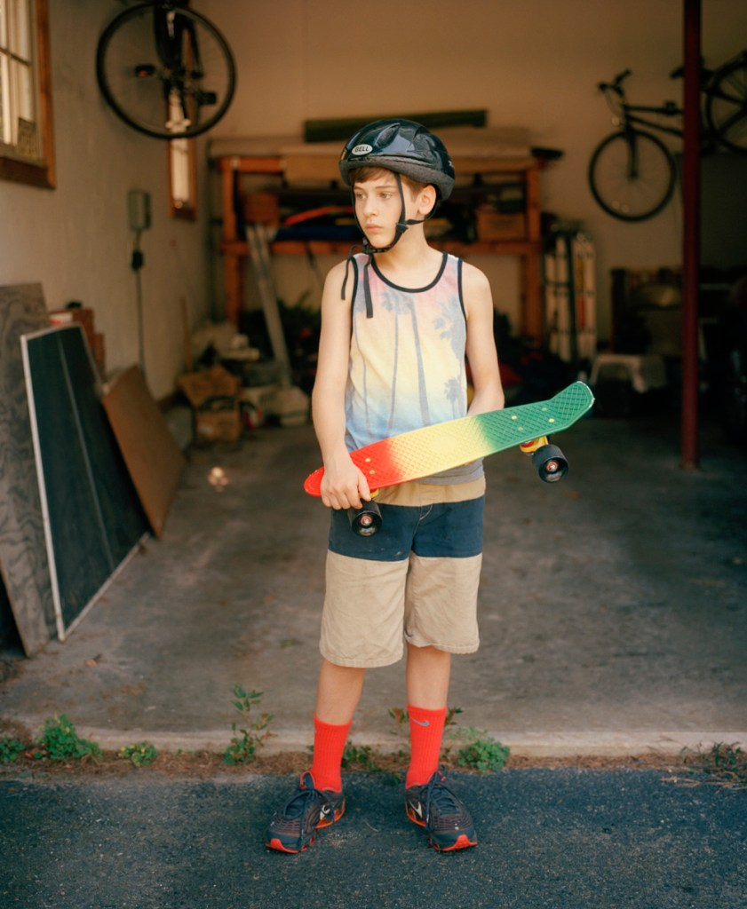 """Skate Board, 2014"" from the series I Could Not Prove the Years Had Feet by Suzanne Revy (courtesy of the artist and Panopticon Gallery, Boston)."