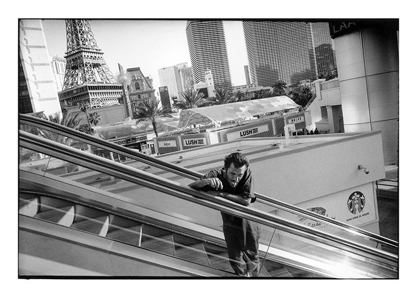 """Las Vegas Boulevard, Las Vegas, NV, 2015"" by Michael Hintlian (courtesy of the artist)."