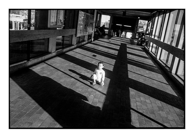 """Wellington Station, Medford, MA, 2015"" by Michael Hintlian (courtesy of the artist)."