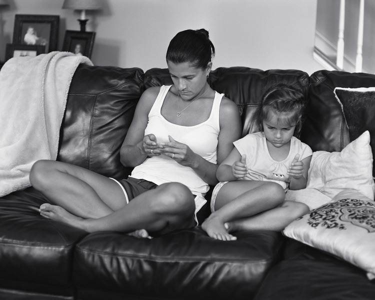 """""""Tanya and Addison, 2014"""" by Eric Pickersgill (courtesy of the artist and Rick Wester Fine Art, NYC)."""