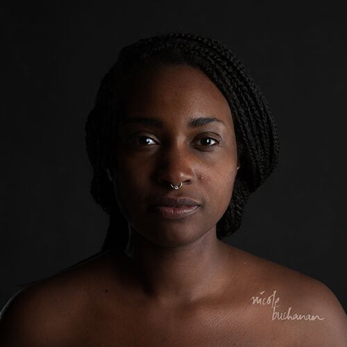 """From the series """"The Skin I'm In"""" by Nicole Buchanan (courtesy of the artist and Gallery Kayafas, Boston)."""