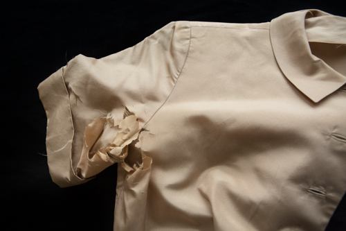 """Silk Blouse"" from the series Keep It For Luck by Gail Samuelson (courtesy of the artist and 555 Gallery, Boston)."