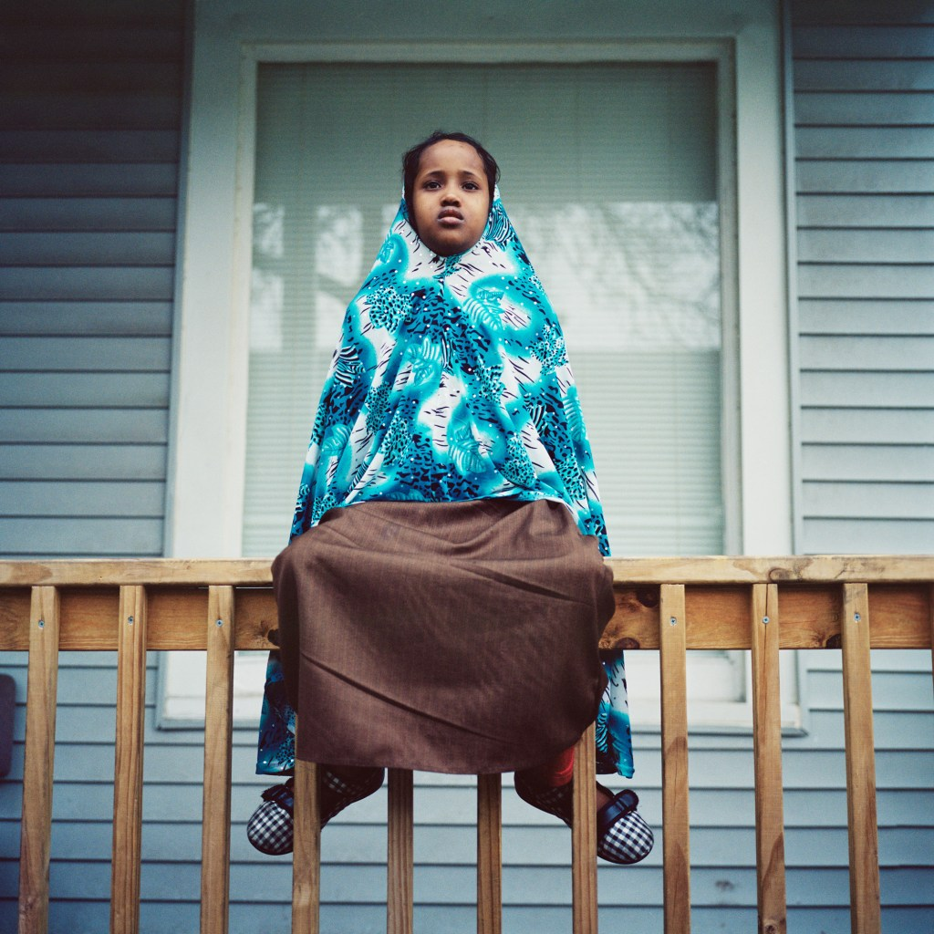 """Kamila Mohamud Noor, Minneapolis, MN, 2011"" by Selma Fernandez Richter (courtesy of the artist)."