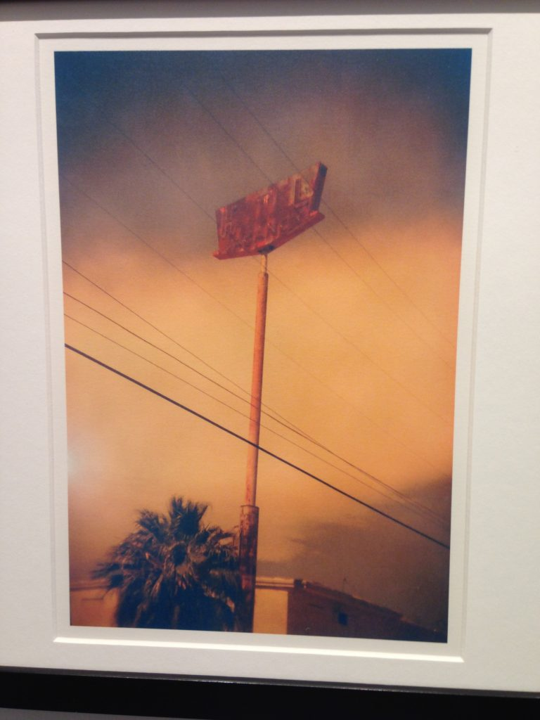 """""""The Boulevard North"""" by Stephanie Bethel, made with Holga 135BC (courtesy of the artist)."""