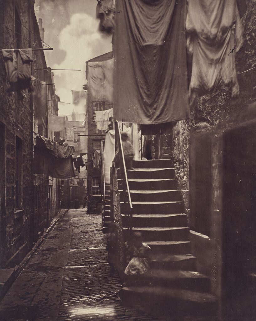 """Close, No. 193 High Street., negative 1868 - 1871; print 1877"" Carbon print by Thomas Annan (Scottish,1829 - 1887)