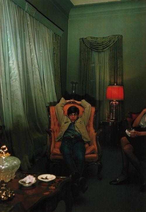 William Eggleston Untitled, 1973 (the artist's nepjew, Adyn Schuyler, in Sumner, Mississippi) © Eggleston Artistic Trust
