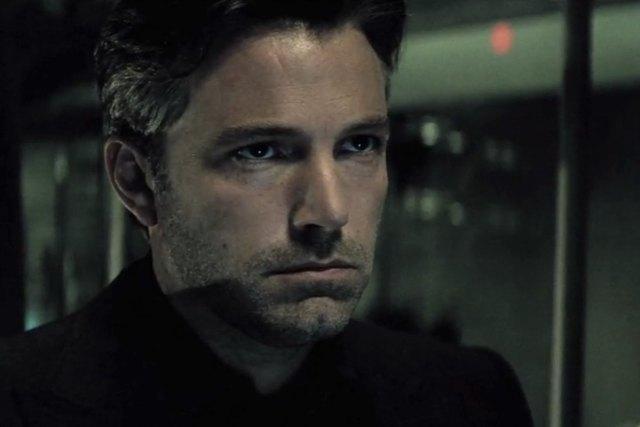 Definitely not an origin story Bruce Wayne with that gray hair.