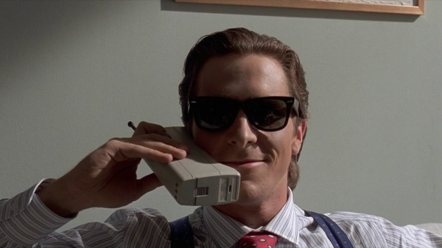 Patrick Bateman. Arguably the closest thing to a hardboiled noir detective that Bale has portrayed.