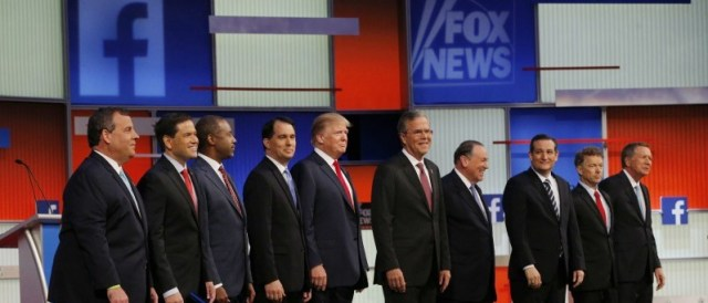 The debate she wasn't allowed to attend. Ten men, no women.