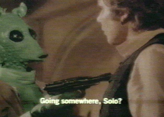 Greedo had it coming.