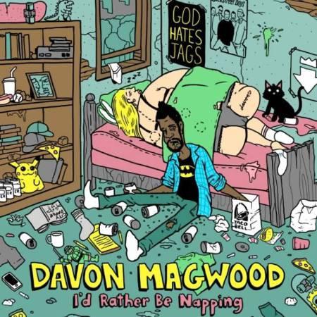 Davon Magwood's album cover. Artwork by Matt Gondek.