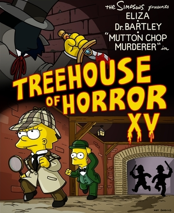 One of many Treehouses of Horror.