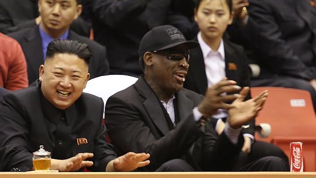 North Korea Rodman