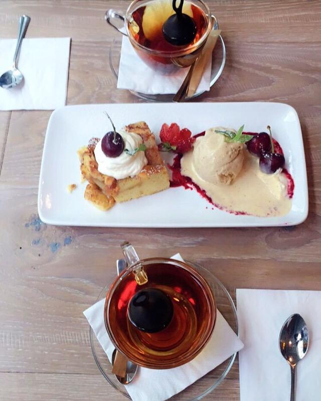 Dessert and good times