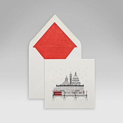 xmas cards smythson