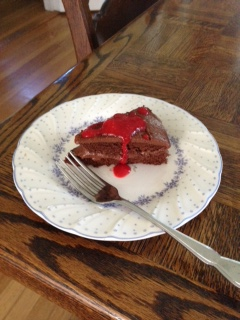 Devil food-slice