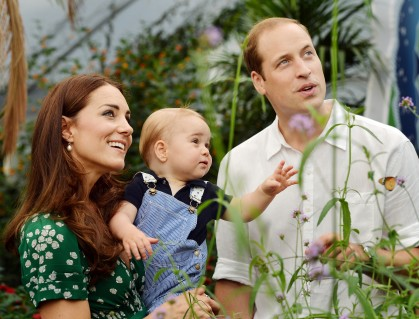 Prince George First Birthday