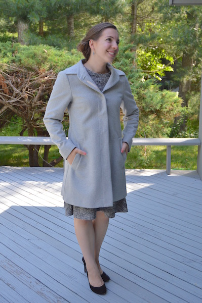 Coat by Katherine Hooker