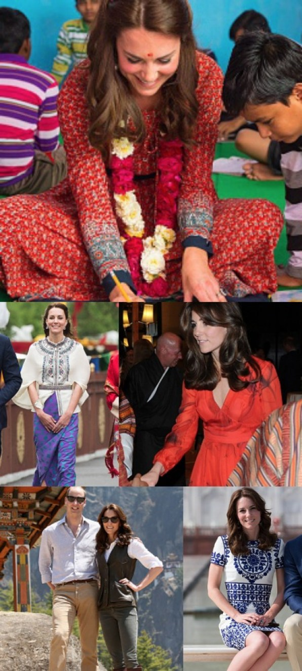 WWKD Favourite Looks of Royal Tour India 2016