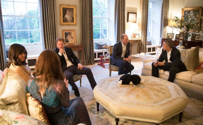Interior of Will and Kate's Kensington Palace Apartment